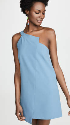 Mason by Michelle Mason One Shoulder Shift Dress