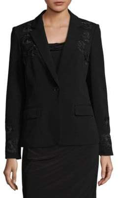 Calvin Klein Embroidered Blazer