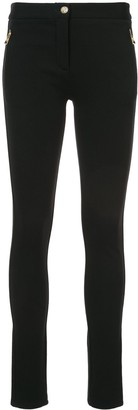 Roberto Cavalli skinny side zip trousers