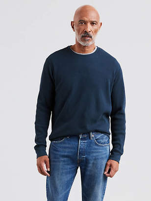 Levi's Thermal Crewneck Tee Shirt T-Shirt
