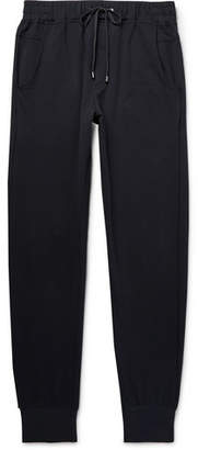 Zimmerli Slim-Fit Tapered Fleece-Back Stretch-Cotton Jersey Sweatpants