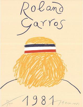Roland Garros by Eduardo Arroyo