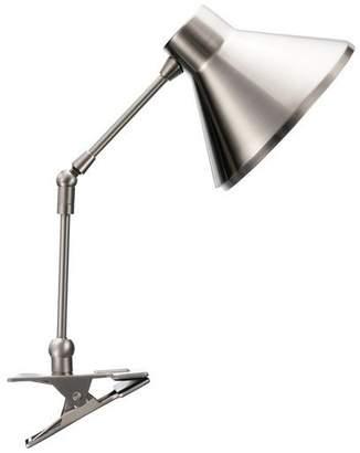 Habitat Bobby Silver Clamp Lamp