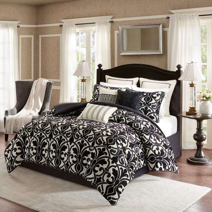 Bombay 9-piece Harrison Chenille Jacquard Bedding Set