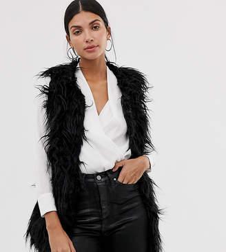 Brave Soul Tall lanzarote shaggy vest