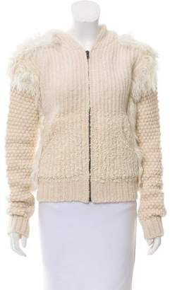 Rachel Comey Knit Zip-Up Cardigan