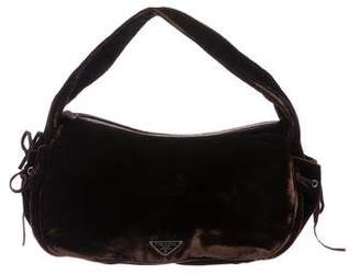Prada Velvet Handle Bag