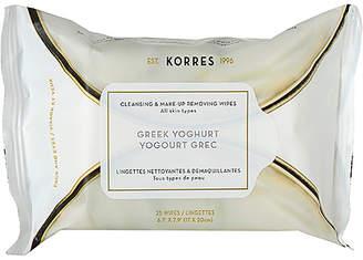 Korres Greek Yoghurt Cleansing Wipes.