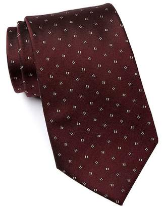 Kenneth Cole Reaction Block Neat Silk Tie