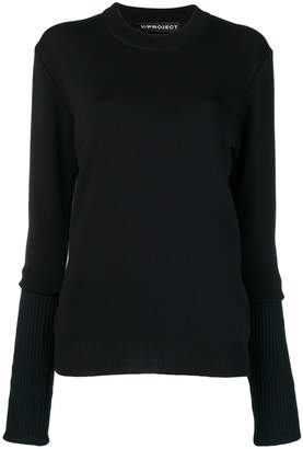 Y/Project Y / Project crew neck sweater