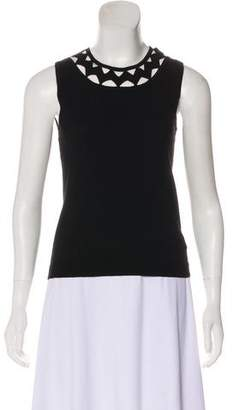 Milly Cutout Sleeveless Top