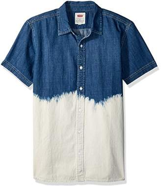 Levi's Men's Shasta Short Sleeve Denim Shirt