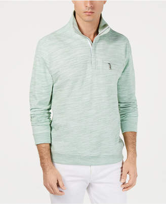 Tommy Bahama Men's Sunrise Sands Stripe Half-Zip Sweatshirt