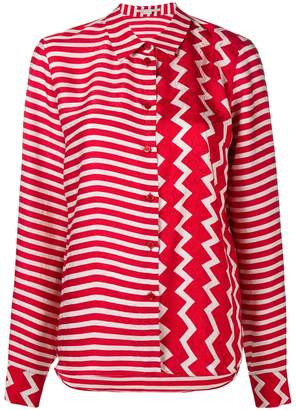 Stella McCartney contrast panel shirt