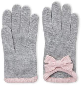 Portolano Bow Cashmere Gloves