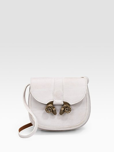 Derek Lam Ram's Head Buffalo Leather Mini Bag