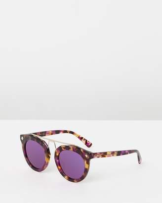 MCM Metal Bridge Round Sunglasses
