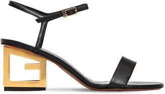 Givenchy 60mm Triangle Leather Sandals