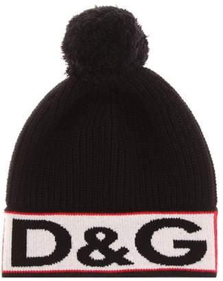 Dolce & Gabbana Knitted wool-blend hat