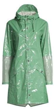 Rains LTD Mirage Hooded Mackintosh