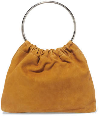Little Liffner Ring Small Suede Tote - Yellow