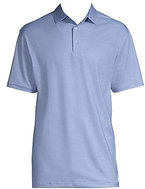 Peter Millar Men's Pointer Printed Short-Sleeve Polo