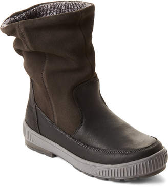 Cougar Black Willow Slouchy Leather Winter Boots