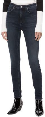 Calvin Klein Jeans Hr Skinny Portland Blue Black