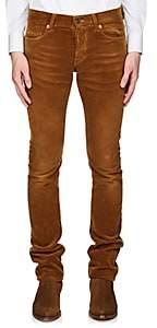 Saint Laurent Men's Corduroy Skinny Jeans - Beige, Tan