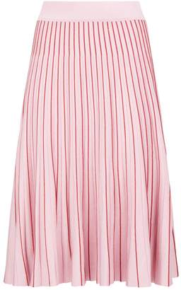 Jonathan Simkhai Metallic Pleated Skirt