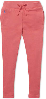 Polo Ralph Lauren Little Girls French Terry Leggings