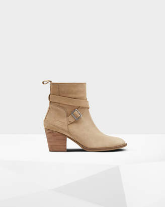 Hunter Women's Original Refined Suede Ankle Boots