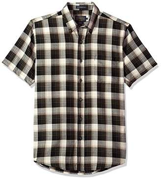 Pendleton Men's Short Sleeve Wool-lin Shirt