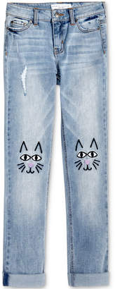 Celebrity Pink Patches Jeans, Big Girls (7-16) $44 thestylecure.com