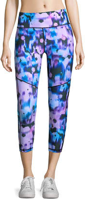 Nanette Lepore Dimension Graphic-Print Capri