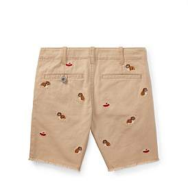 Polo Ralph Lauren Straight Fit Stretch Short(2-7 Years)