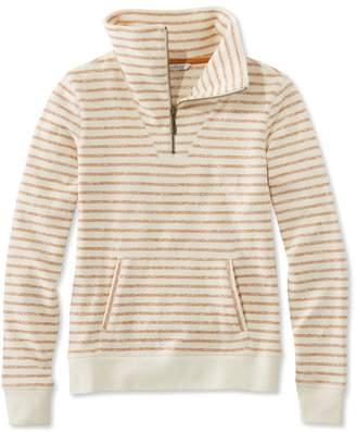 L.L. Bean L.L.Bean Signature Quarter-Zip Funnelneck Sweatshirt