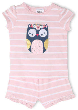 Sprout NEW Pajama Set Pink