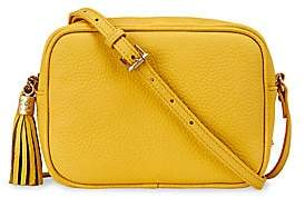GiGi New York Women's Madison Pebbled Leather Crossbody Bag