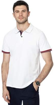 Racing Green - White Tipped Polo Shirt