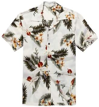 Hawaii Hangover Men's Hawaiian Shirt Aloha Shirt S Orchid Cream