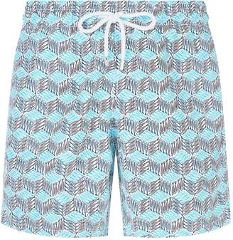 Vilebrequin Okoa Mini Fish Print Swim Shorts