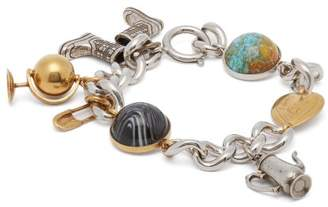Burberry Charm Bracelet - Womens - Gold