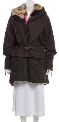 Fur-Lined Parka Jacket