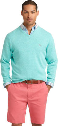 Vineyard Vines Lightweight Heathered V-Neck