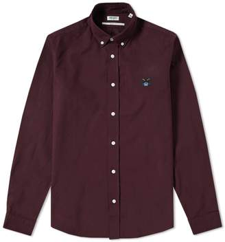 Kenzo Button Down Tiger Twill Shirt