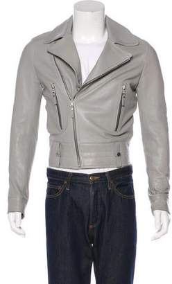 Balenciaga Lambskin Moto Jacket w/ Tags