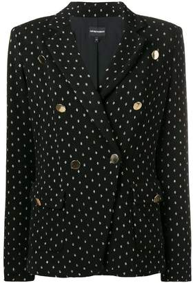 Emporio Armani double breasted tailored jacket