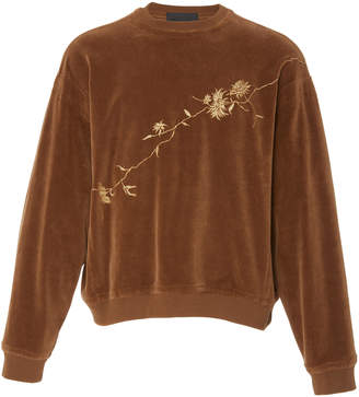 Haider Ackermann Embroidered Crew Neck Sweater