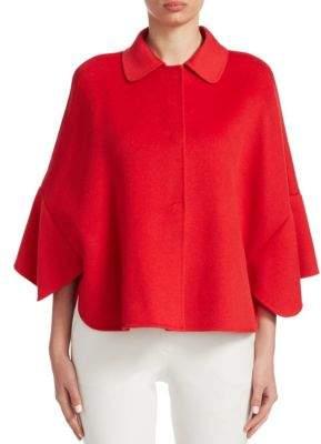 Emporio Armani Wool& Cashmere Cape Coat